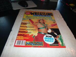 Wrestling ringside magazine 1991 no 54 ricky steamboat wrestling colour pin up +