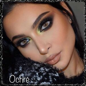 """Color Contact Lenses """"OCHRE""""Two sterile Soft contact lenses w/o Case storage."""