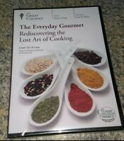 The Everyday Gourmet Rediscovering the Lost Art of Cooking DVD 4 Disc Set NEW