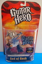 2007 Todd McFarlane Toys Guitar Hero God of Rock Toy Action Figure WHITE SHIRT