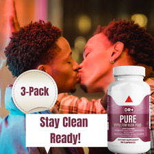 Colon Cleanse & Stay Clean with Psyllium Husk, Compare to Pure for Men, 3-Pack