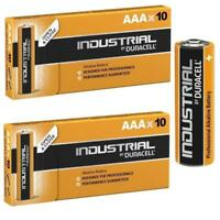 20 Duracell Industrial AAA Alkaline Batteries Replaces Procell 1.5V Long Lasting