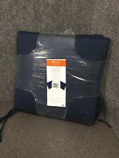 Sunbrella Two Pack Outdoor Seat Pads, Spectrum Indigo M60E