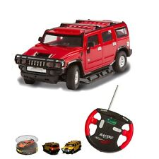 Invento RC Lizenz Auto 1:43 2 Kanal - Hummer - rot 27Mhz