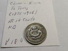D66 China Kirin c.1898 10 Cents Y-180