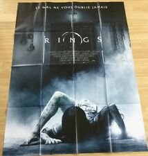 AFFICHE CINEMA 8895 - RINGS - HORREUR - 120/160
