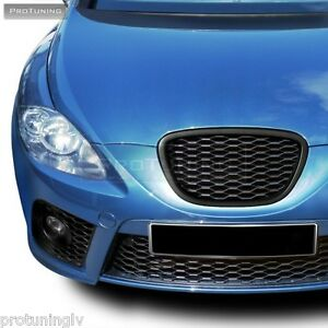 No logo grill for Seat Leon 1P 5P 04-09 Altea GRILLE BADGELESS DEBADGED