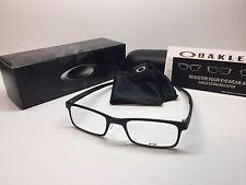 NIB Oakley Milestone 2.0 Satin Black Frames 50/19 Eyeglasses OX8047-0150