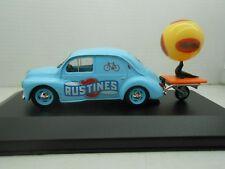1/43 COCHE RENAULT 4 4/4 RUSTINES 1951 ELIGOR METAL MODEL CAR 1:43 MINIATURE