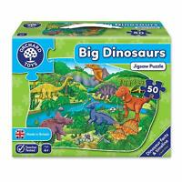 Orchard Toys Big Dinosaurs Prehistoric Setting 50 Piece Childs Fun Floor Puzzle
