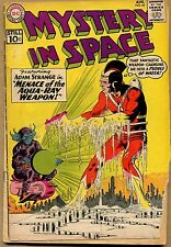 """Mystery In Space #69 - """"Menace of the Aquaray Weapon"""" 1961 (Grade 2.5) WH"""