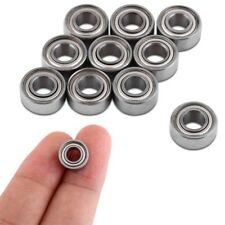 10 x F685zz Mini Metal Double Shielded Flanged Ball Bearings (5mm*11mm*5mm)