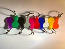 Shopping Trolley Token Reusable Fob Keyring £ £1 Release Key  - BUY 1 GET 1 FREE