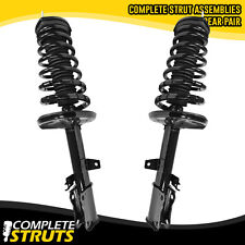 1997-2001 Toyota Camry Rear Quick Complete Struts & Coil Springs w/ Mounts Pair
