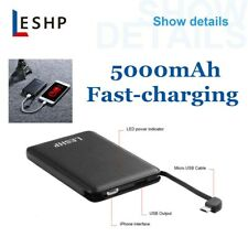 5000mah 5V 1A Portable Power bank USB External Battery Charger For Cell Phone BT