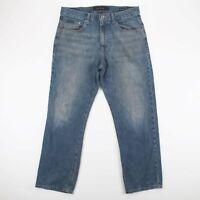 Vintage CALVIN KLEIN  Blue Denim Relaxed Straight Jeans Mens W34 L31