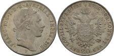 20 Kreuzer 1852 Österreich Habsburg Wien Franz Joseph, 1848 - 1916 #Alb.2735