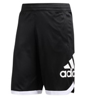 Adidas Basketball Shorts Mens 2XL Tall Black Badge of Sport Slim Fit Training
