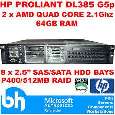 HP AMD Firmennetzwerke Server mit 64GB Speicherkapazität (RAM)