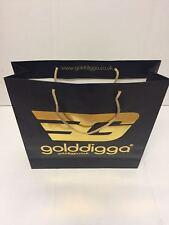 "100 x Clearance Sale Misprint Designer Paper Carrier Bags Fashion 6 x 6 x 2.5"""