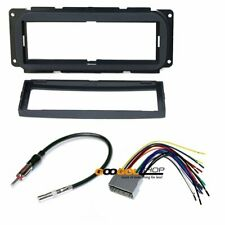 CAR STEREO DASH INSTALL MOUNTING KIT HARNESS Compatible with CHRYSLER JEEP DODGE