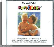 Happy Baby - CD Sampler - Relaxing, Soft, Gentle Music Box Type Music CD! New!