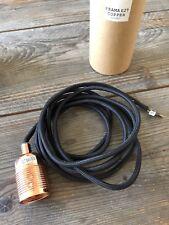 Frama E27 Leuchte/ Lampe/ Hängeleuchte/ Kabel mit Fassung Kupfer/ copper