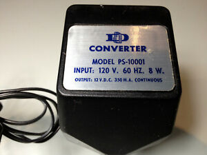 Dormeyer Industries Converter Model PS-10001 Wall Mount Power Supply