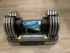 ProForm Fusion Space 25 LBS Single Adjustable Dumbbell With Tray