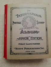 Scott International Postage Stamp Album 1945,Junior Edition with 4,500+ stamps