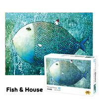 Fish Jigsaw 1000 pieces Paper Puzzle Educational Toys for Kids Adults Difficult