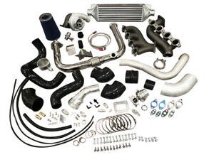 Complete Turbo Kit FOR Silverado Sierra Turbocharger Vortec V8 LS 4.8 5.3 6.0 62