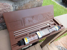 Vintage Outers Gun Cleaning Kit With Plastic Deer & Duck Design Case