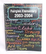2004 Fairglen Elementary School, Cocoa, Florida - YEARBOOK - NO AUTOGRAPHS