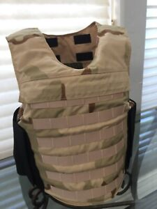 Concealable BODY ARMOR BULLETPROOF Vest Made With Kevlar 3a Inserts Panels
