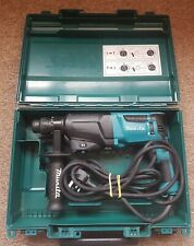 Makita HR2610 240V  SDS Rotary Hammer Drill With Case Fully Working Order
