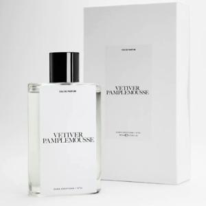 ZARA Emotions VETIVER PAMPLEMOUSSE by Jo Malone Parfum UNISEX Fragrance EDP 90ML