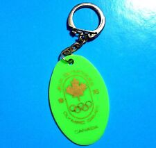 1976 OLYMPIC GAMES MONTREAL CANADA KEYCHAIN with Canadian Olympic Committee Logo