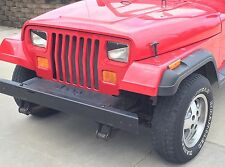 1993 Jeep Wrangler YJ, XJ & Cherokee Angry Eyes Mad Headlight Decal V2 BAD BOY!!