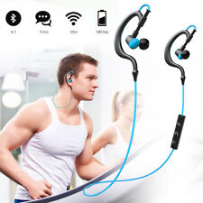 Noise Cancelling Wireless Bluetooth 4.1 Stereo Sports Headset Earpiece Earphones