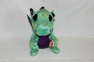 """Ty beanie boo's Buddy - Cinder The Dragon - height.9""""/23cm new with tag"""