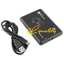 125Khz USB RFID sin Contacto Sensor De Proximidad Lector de tarjeta de identificación inteligente EM4100