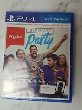 SingStar Ultimate Party Game Only (Sony PlayStation 4, 2014) Factory Sealed PS4