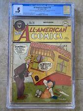All-American Comics #79 CGC 1946 DC Comics Green Lantern Mutt and Jeff Cover