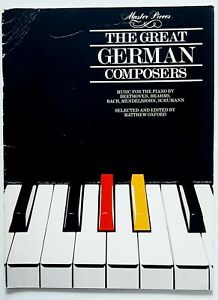 Master Pieces - The Great German Composers - Music for the Piano