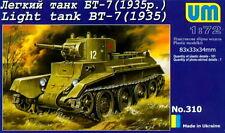 UMmt 1/72 310 WWII Soviet Red Army BT-7 Light Tank M.1935