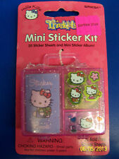 Hello Kitty Retro Sanrio Kids Birthday Party Favor Scrapbook Mini Sticker Kit