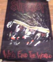 SLIPKNOT-WE'LL END THE WORLD  POSTER-BRAND NEW
