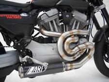 LIGNE COMPLÈTE ZARD INOX/CARBONE RACING HARLEY-DAVIDSON XR 1200