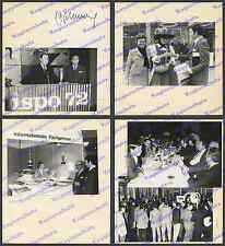 orig. Fotos ispo 1972 Boxer Max Schmeling Autogramm Sport Puma München Genscher